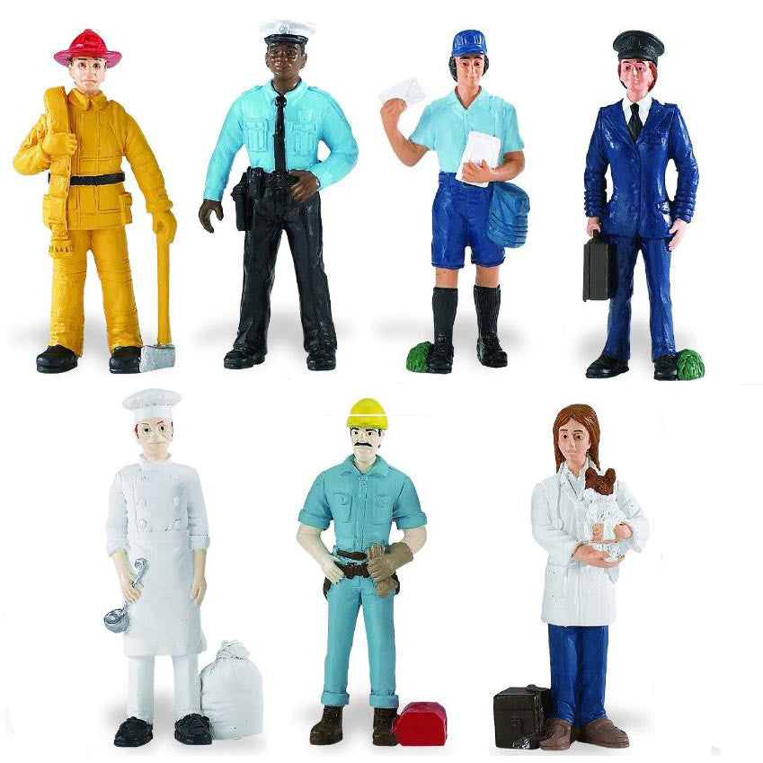 Miniature - Community Workers Value Set (7 Figures)