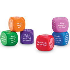 CONVERSATION Toss Cubes (Set of 6)