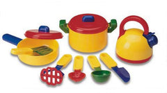 Pretend & Play Cooking Set (10-Pieces)