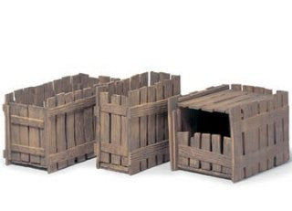 Set of 3 Crates (w/ Sliding Doors)