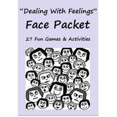 Dealing With Feelings Face Packet