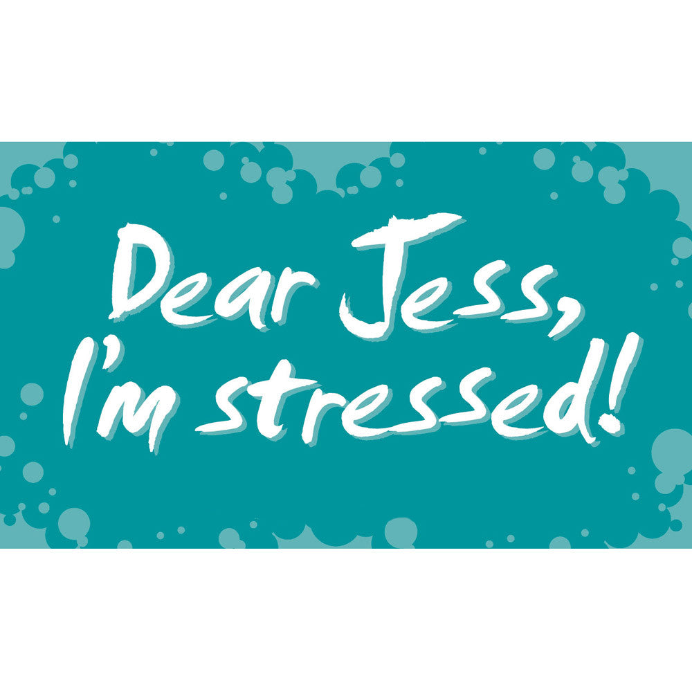 Dear Jess, I'm Stressed! Cards (Middle School Version)