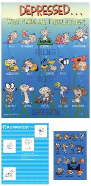 The Depression Poster Kit (Includes Poster, Magnet and Guidebook)