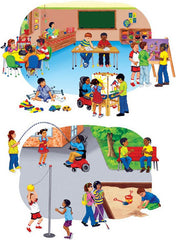 Disability Awareness Felt StoryBoard Set (PRE-CUT)