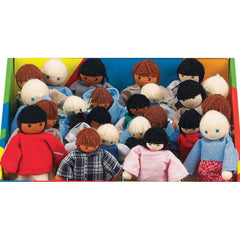 Friends, Peers & Siblings (6 Doll Set)