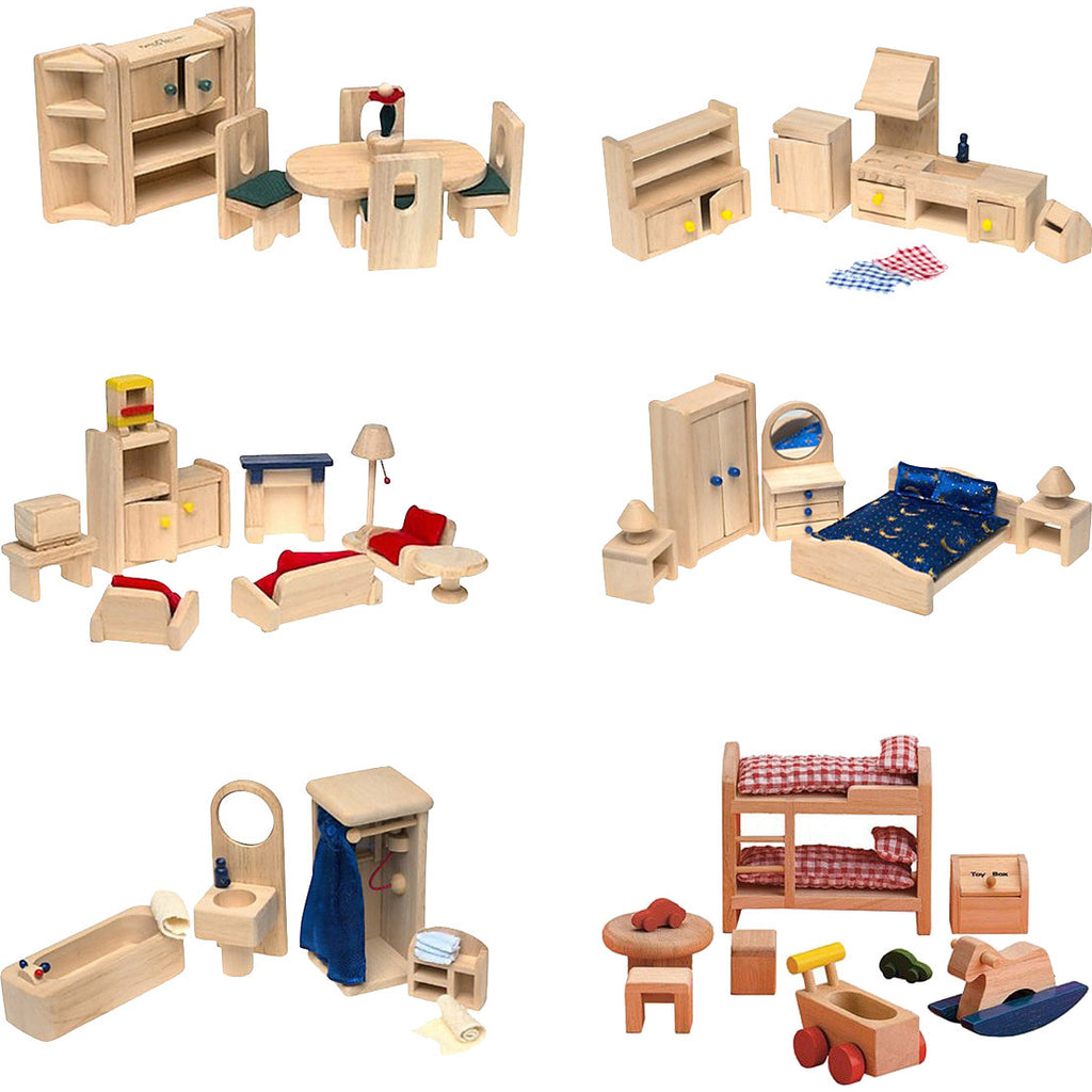 "The ""Best"" Dollhouse Furniture (Set of 69 Pieces)"
