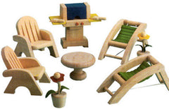 Dollhouse Deck/Patio Set