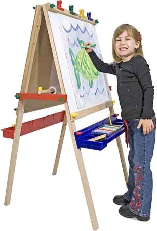 Double-Sided Standing Art Easel