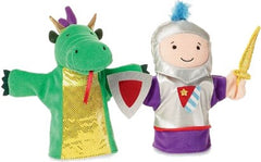 Fantasy Puppet Set - Dragon & Knight