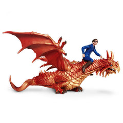 Dragon Rider on Magical Dragon (2-Piece Set)