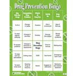 Drug Abuse Prevention Bingo Game