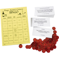 Drugs, Alcohol & Tobacco Bingo
