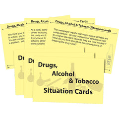 Drugs, Alcohol & Tobacco Situation Cards
