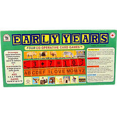 Early Years (Four Co-operative Card Games)