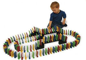 Easy-Stand Domino Rally (103 Extra Large Pieces)