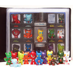 EMOTES - SERIES  ONE (12 Emotion Figures & Display Case)