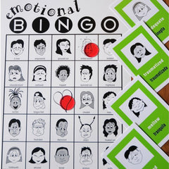 Emotional Bingo For Teens (In English & Spanish)
