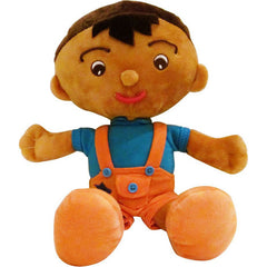 "EmotiPlush ""Looey"" (Brown Boy)"