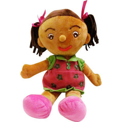 "EmotiPlush ""Tasha"" (Brown Girl)"