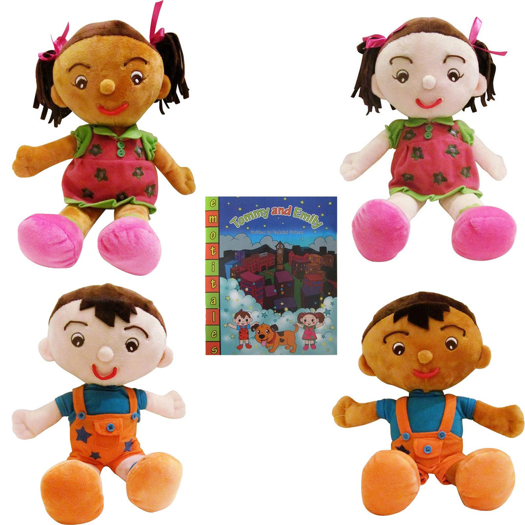 EmotiPlush - The Facial Expression Dolls & EmotiTale Book