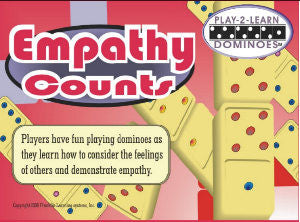 EMPATHY COUNTS (Play 2 Learn Dominoes)