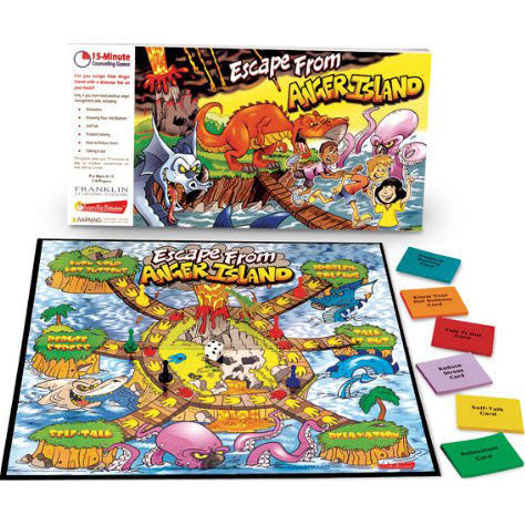 Escape From Anger Island (Six - 15 Minute Counseling Games)