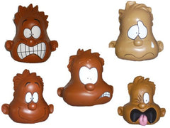 Set of Ethnic Mood Dudes (Squeezable Stress Relief Toys)