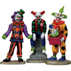 Miniature - Evil Sinister Clowns (Set of 3)