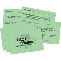 Fact Or Fiction Activity Cards: Exploring Sexual Issues