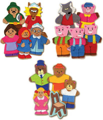 Storybook Finger Puppet/Felt Board Set (15 Puppets)