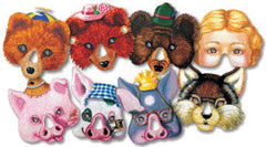 Fairy Tale Masks (Set of 12)