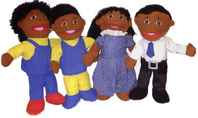 Full-Bodied Puppet Family - African-American