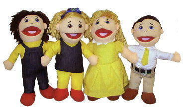 Full-Bodied Puppet Family - Caucasian
