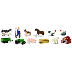 Miniature - Farm Life Set (12-Figures)