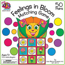 Feelings in Bloom Matching Game
