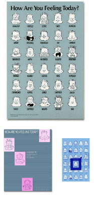 The Feelings Poster Kit (Includes Poster, Magnet & Guidebook)