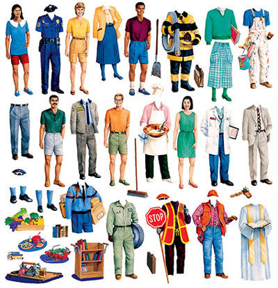 "Felt ""Community Workers"" Set (PRE-CUT)"