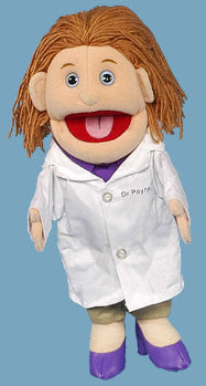 Female Doctor Puppet (Movable Mouth)