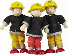 3-Piece Fire Fighter Set (Dollhouse Sized)
