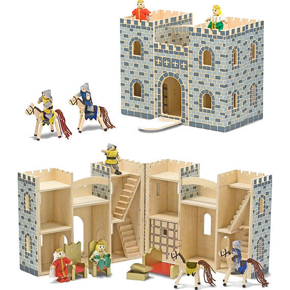 Fold & Go Wooden Castle