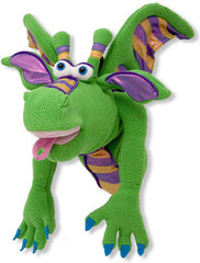 Friendly Dragon Puppet (Movable Mouth)