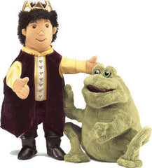 Frog/Prince Reversible Puppet