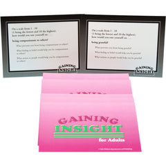 Gaining Insight Card Game for Adults