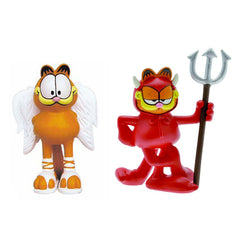 Angel & Devil (Good & Evil) Garfield Figures