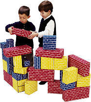 Giant Cardboard Blocks (40-Piece Set)