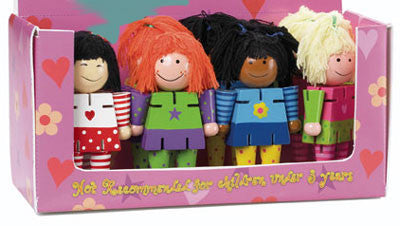 Girlfriends (4 Multicultural Dolls)