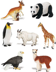 Miniature - Global Animal Set (7 Figures)