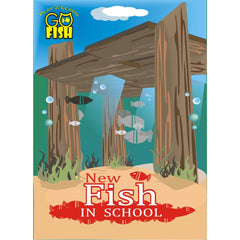 New Fish in SCHOOL: Go-Fish Card Game