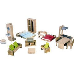 The Versatile Play House & Dollhouse Furniture Set