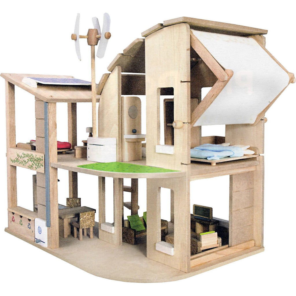 The Ecological Dollhouse with Furniture